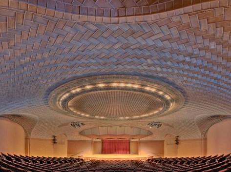 El Auditorio Baird del Museo de Historia Natural de Washington.