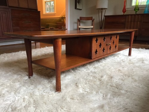 Medium Of Vintage Coffee Table