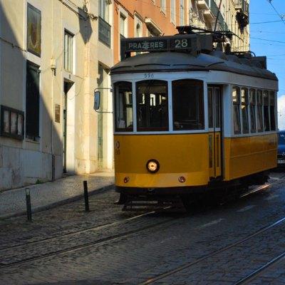 Il famoso tram numero 28 di Lisbona