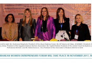 Conclusions of the VIII Mediterranean Women Entrepreneurs Forum