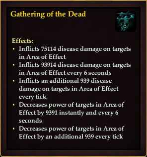 Effect - Gathering of the Dead
