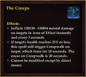 Effect - The Creeps