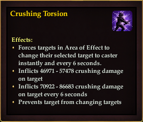 Effect - Crushing Torsion