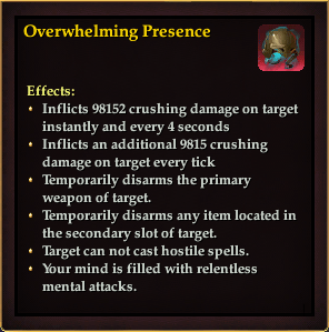 Effect - Overwhelming Presence