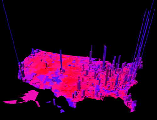 Purple America 2012 3D
