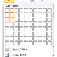 Using a Table in Word for Newsletters
