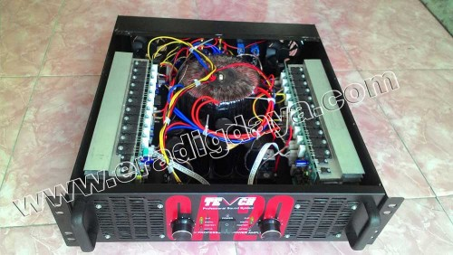 Skema Power Amplifier Sound System Lapangan