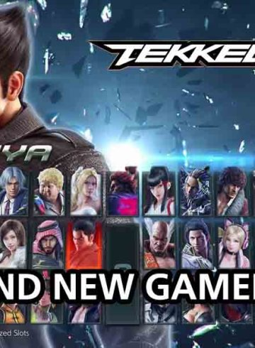 Tekken 7 Menu