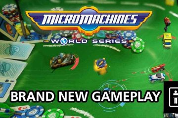 Micro Machines Gameplay