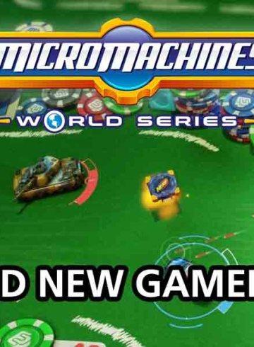 Micro Machines Gameplay