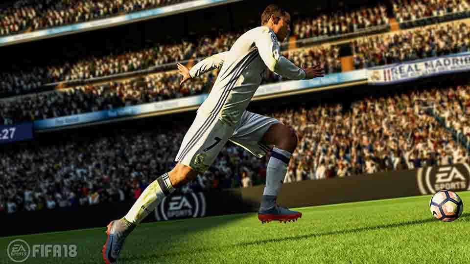 FIFA 18 Screen