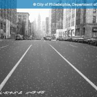 C-11635 - Highway - Broad Street - North and South from Opposite Inquirer Building