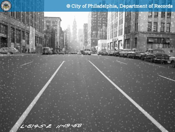20160126085401 - C-11635 - Highway - Broad Street - North and South from Opposite Inquirer Building