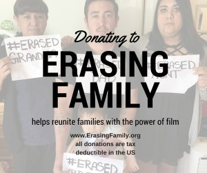 Donating to Erasing Family