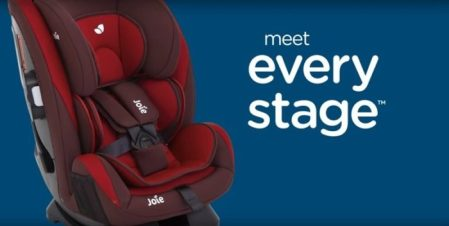 New Car Seat From Joie! Meet 'Every Stage' 0+/1/2/3