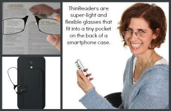 Reading Glasses That Fit On Your SmartPhone (Case Included) from #ThinOptics