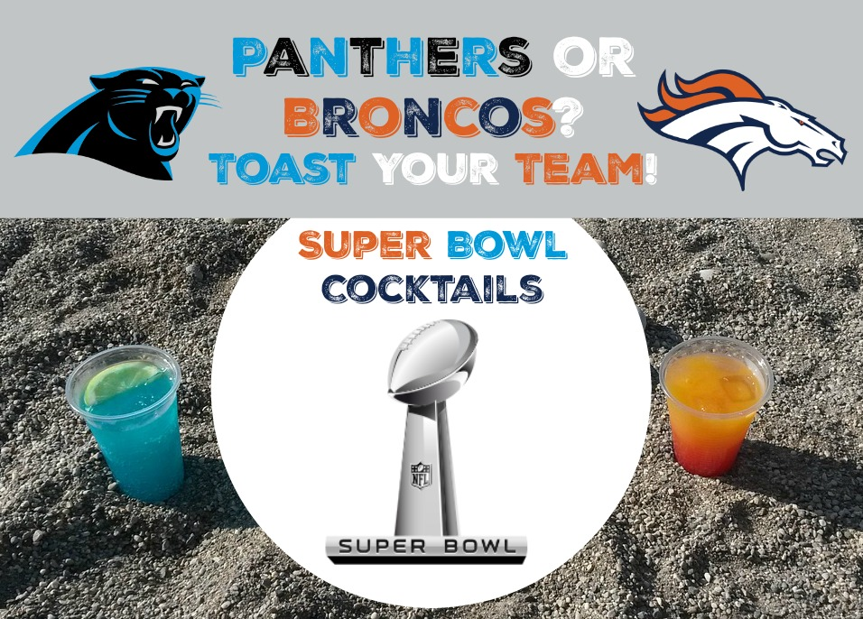 Panthers or Broncos? Toast Your Team With These Super Bowl Cocktails