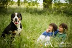 Portrait of Family Dog Hensley Lake Madera, CA