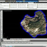 AutoCAD Civil 3D How To Trim Image to a Surface Border Video