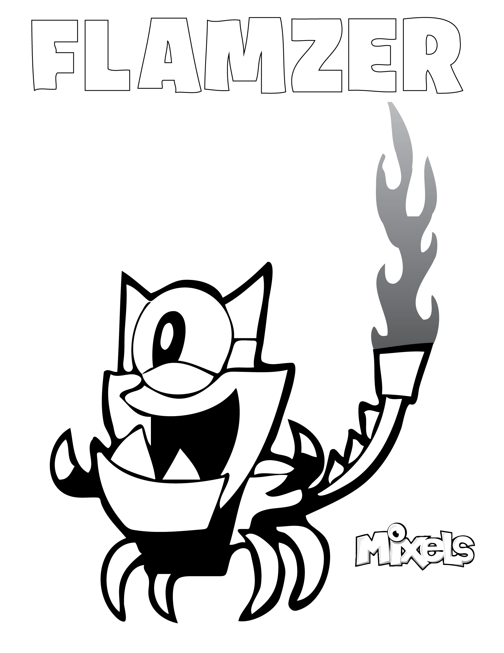 mixels coloring pages to print - photo#24