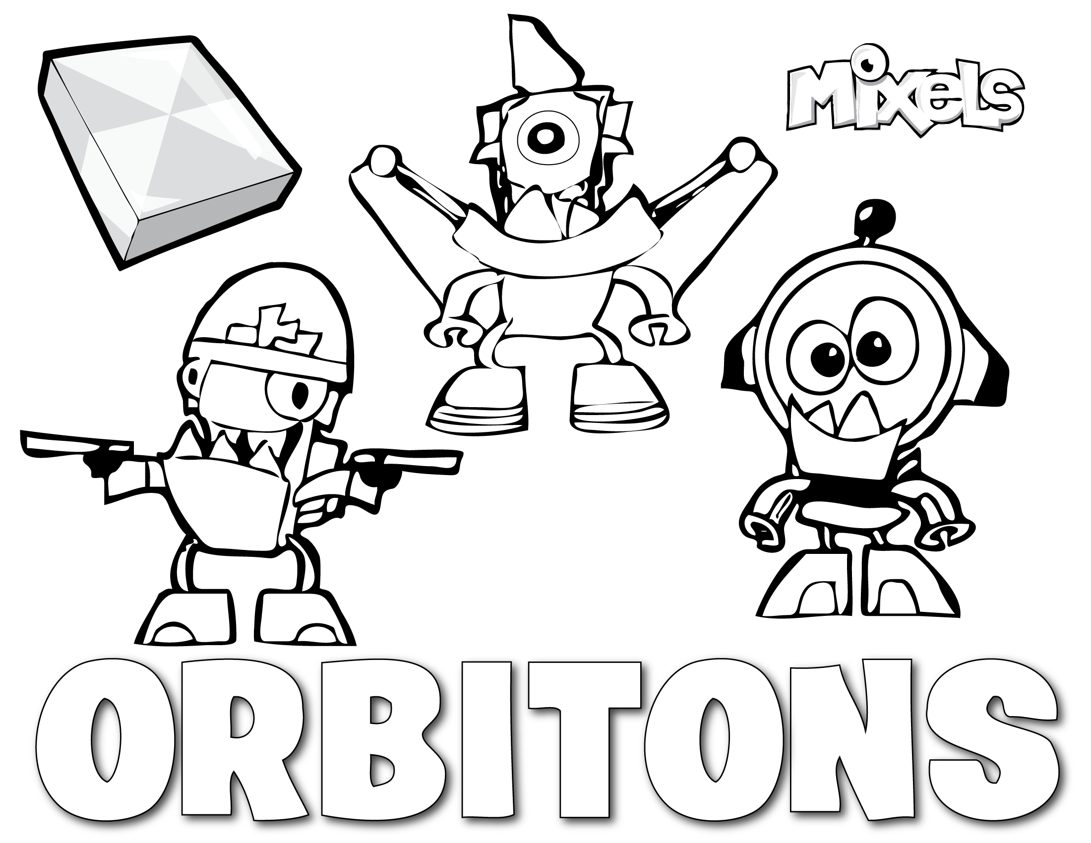 mixels coloring pages to print - photo#5