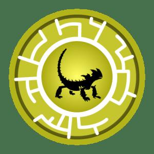 Thorny Devil Creature Power Disc