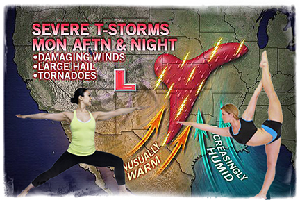 Yoga Weatherwomen