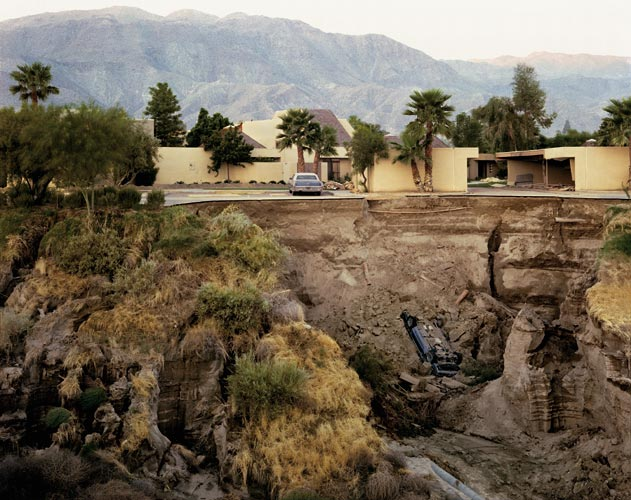 Joel Sternfeld. After A Flash Flood, Rancho Mirage, California 1979