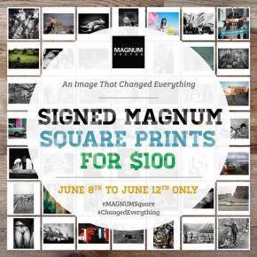 Don't Miss Out: Signed Magnum 6×6 Prints for only $100!