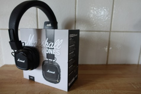 Marshall Major II Headphones - The box