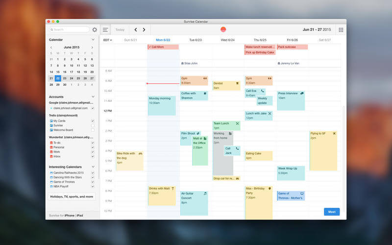 Calendar App For Pc : Calendar app review erik rudling