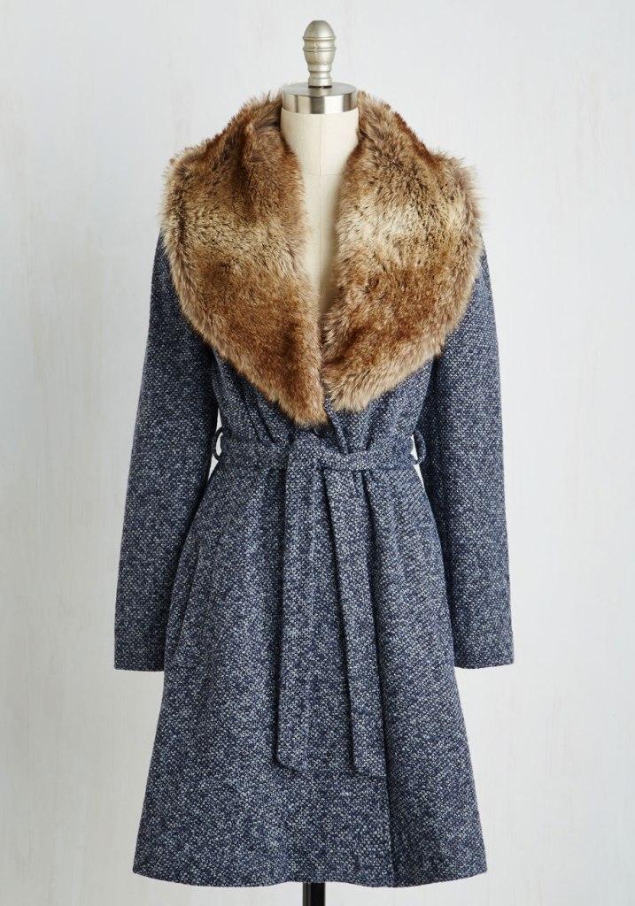 modcloth city lovin coat