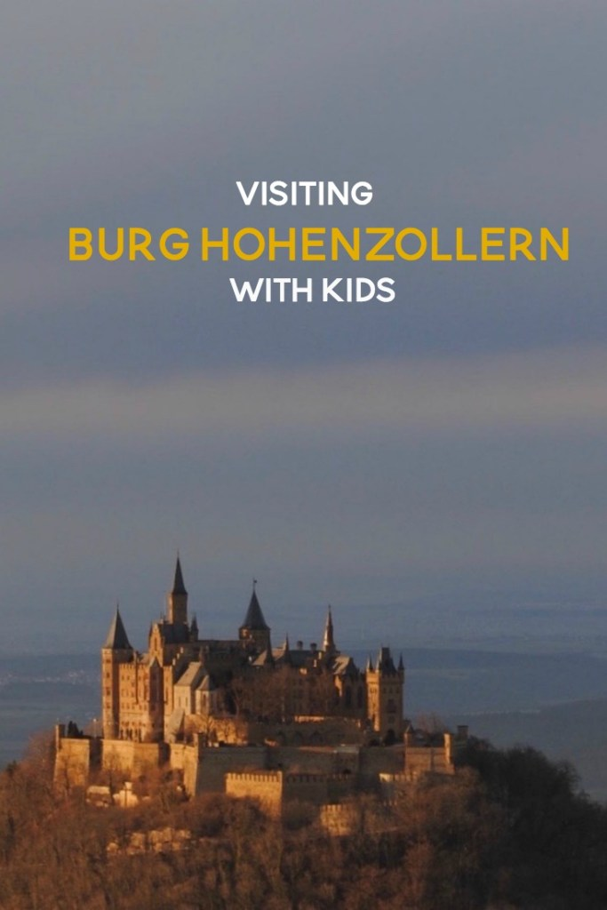 Visiting Burg Hohenzollern with Kids PIN