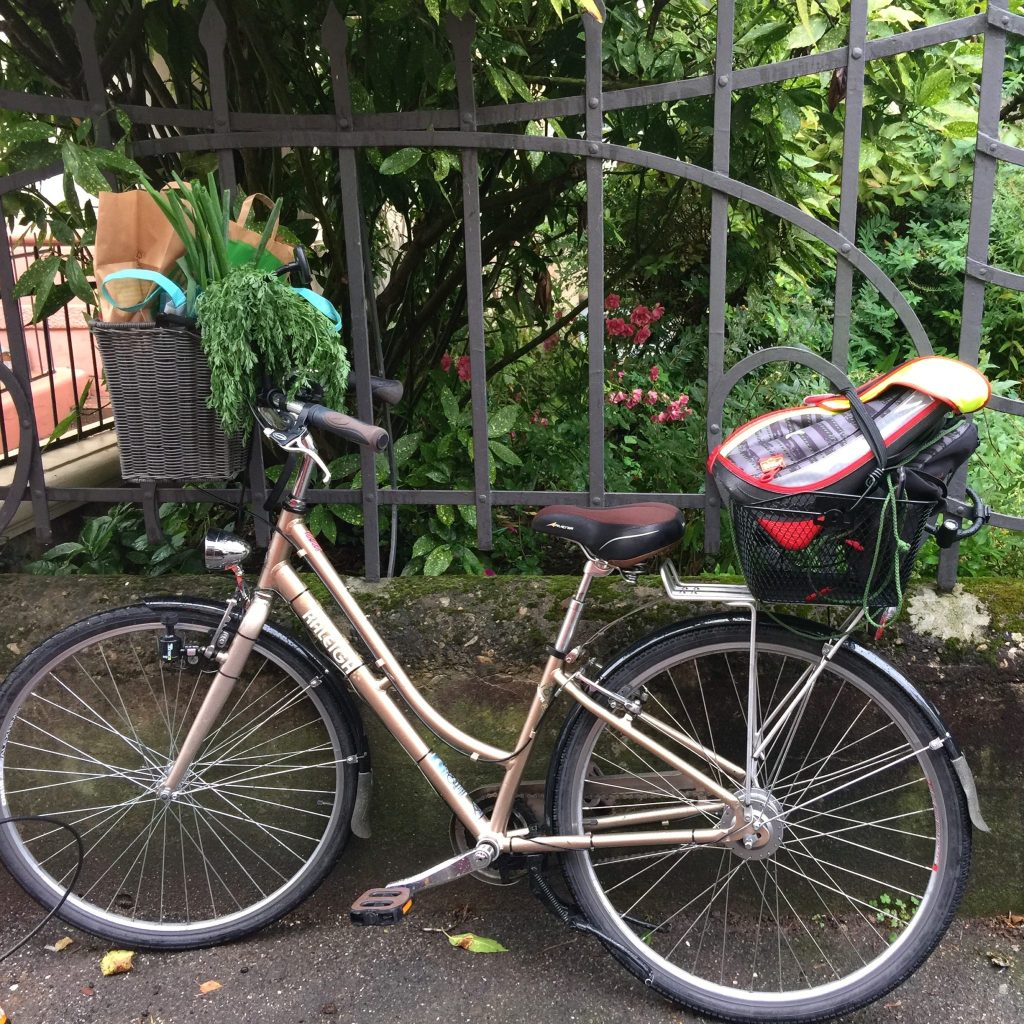 Front and read bike baskets