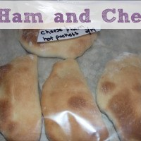 Freezer Cooking: Ham and Cheese Pockets