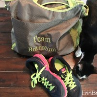 Organized Gym Bag