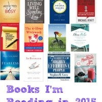 Books I'm Reading in 2015