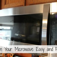 Clean your Microwave Easy and Fast