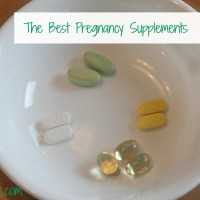 The Best Pregnancy Supplements