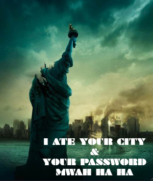 I Ate Your Password And Your Little Dog Too!
