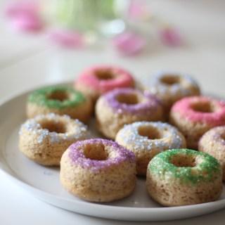 Baked Cinnamon-Sugar Donuts