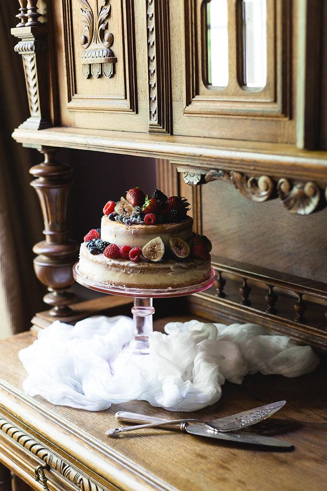 Chamomile-Lavender Cake