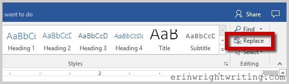 How to Find and Replace Microsoft Word Formatting