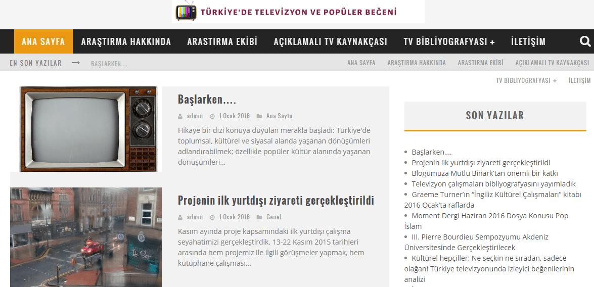 Ana Sayfa Televizyon ve Popüler Begeni