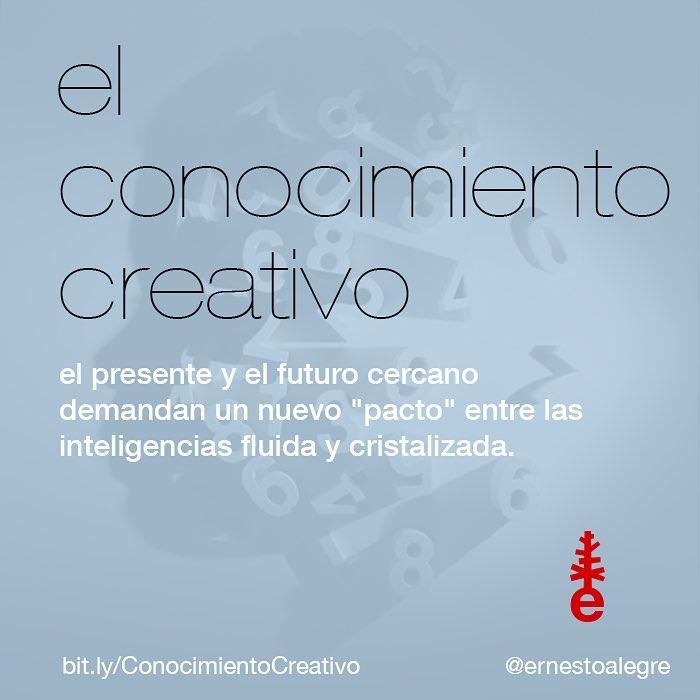 El conocimiento creativo