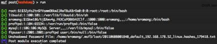 Linux enum_services post exploitation script