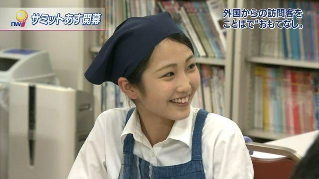 【有名人,素人画像】(激写) NHKに映った伊勢の女性店員が物凄いモデルwwwwwwwwwwwwww (画像あり)