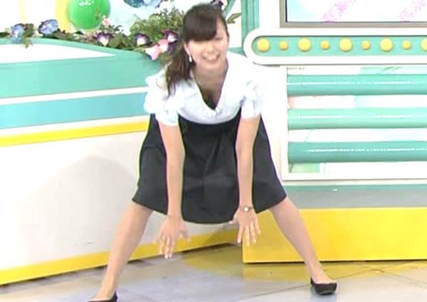 純粋アナウンサー☆斎藤真美アナが早朝から胸チラ連発で視聴者をフルボッキにさせるwwwwwwwwww(TVえろキャプ写真あり)