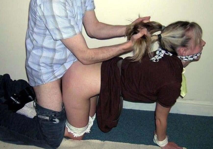 髪掴んでBACKでガン突きsex☆これ馬を指導してるみたいでワロタwwwwwwwwwwww(写真あり)