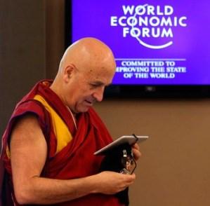 Matthieu Ricard at Davos